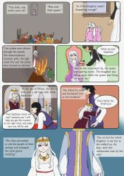 The devils daugther. page 3 by Chibiklompen