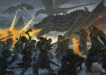 Battle Beyond The Wall by Drawslave