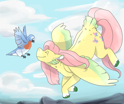 Flutter high by FlyingEevee