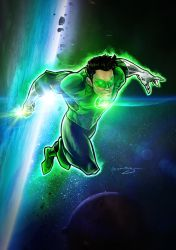 Green Lantern by Patrick-Hennings