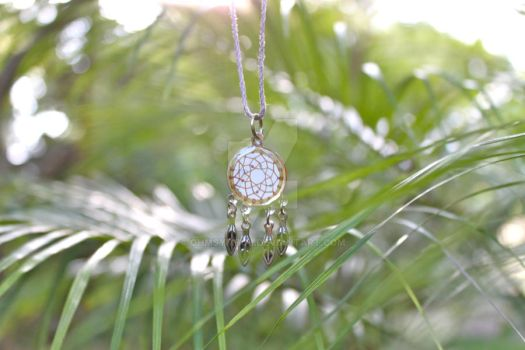 Dream Catcher Hemp Necklace by OhmSymbol