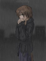 There's nothing but the rain by celesse