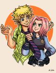 NaruSaku - Zootopia by TheLivingShadow