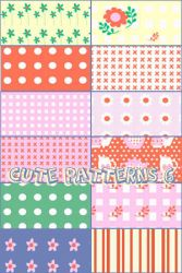 Cute patterns 6 by foley-resources