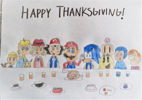 Thanksgiving 2016 by SuperSmash6453