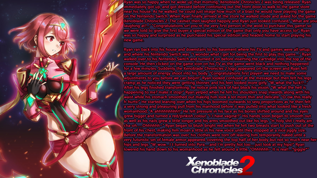 Xenoblade Chronicles 2 Pyra TG by SexyDragonQueen