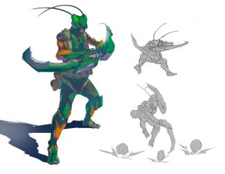 Mantis Man! by your-fathers-belt