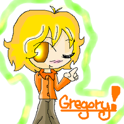 teenage Gregory by HyperHippy