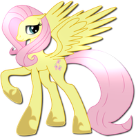 Princess Flutter digitalized by xw3r3w0lfx