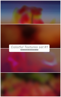 Colorful Textures set 1 by FATIGUELESS