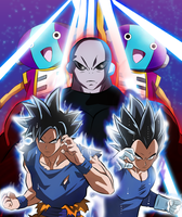 Dragon Ball Super - Tournament of Power by bleuwing