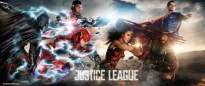 Justice League All In Art by Bryanzap