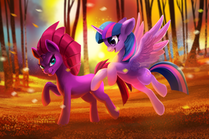 Twilight and Tempest by TsaoShin