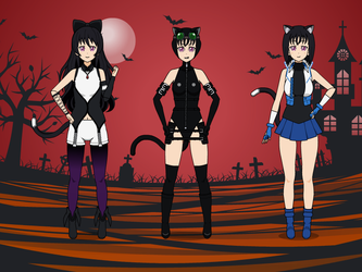 My Halloween Costumes by NekoLover3000