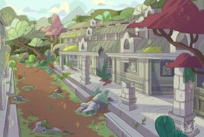 Temple BG by MissMistyMoo