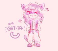 Gatita by burningblazecat