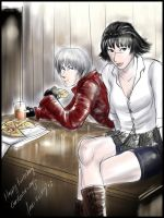 Dante and Lady by kicky