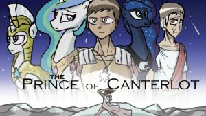 Cover art- The Prince of Canterlot by SapsDrow