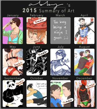 2015 Summary of Art by Colours07