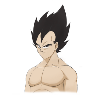 Vegeta Sama -  the prince of all saiyan by Otunisien