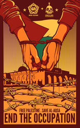 Palestine Poster by graphic-resistance