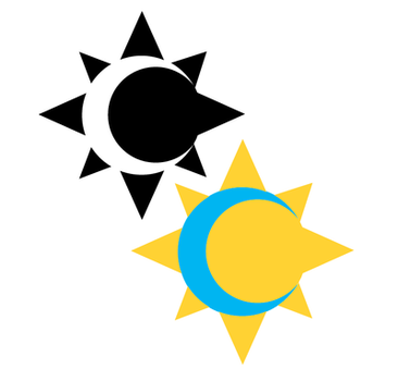 Opposites - Sun and Moon by Stella--Marie