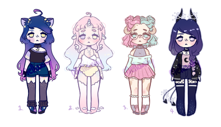 Sparkly smol adopt auction [CLOSED] by mellowshy