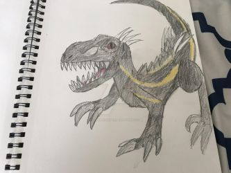 Indo raptor by fossil-fighter