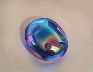 Study - Glass Pebble by ResidentFrankenstein