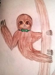 A Sloth by JacetheShark