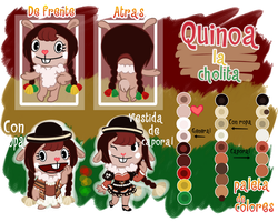 Quinoa/Cholita Ref Sheet by La-Cocotua