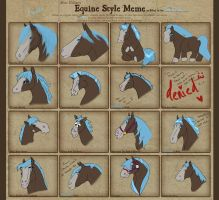 Equine Style Meme by Traitorstar