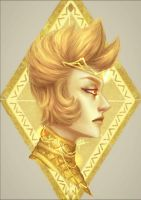 Yellow Diamond  by MaryCarSam
