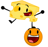 Cheesy and Annoying Orange by jared33