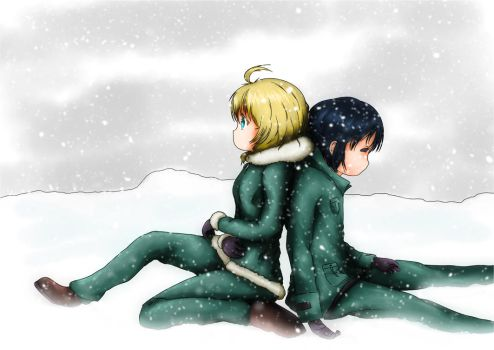 Girls last tour Snow without blue hue by PlayerSinon