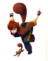 My first Squirrel Girl by ivanev