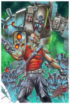 The Metabaron by CValenzuela