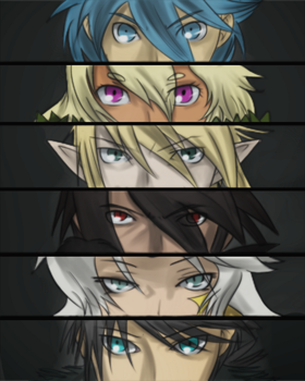dAF: The Band's Persona...? by witch-girl-pilar