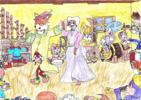 Maid Marin and the Freedom Fighters by CCB-18