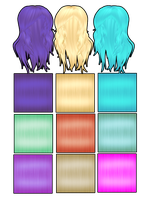 Soft hair textures + download by Narkosespritze