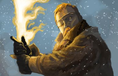 Beric Dondarrion, The Lightning Lord! by KnightOfWater