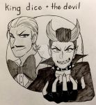 King Dice and the Devil by Calibriatheskeleton