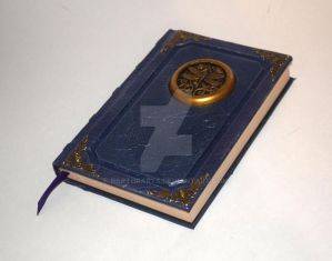Dragonfly Grimoire medallion sketchbook journal