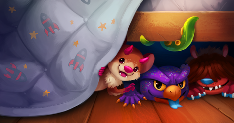 Monsters Under The Bed by TsaoShin