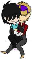 Smol Parv and Will by Violet-The-Cat