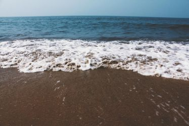 The sea, the sand and the sky. by AxnAkshan