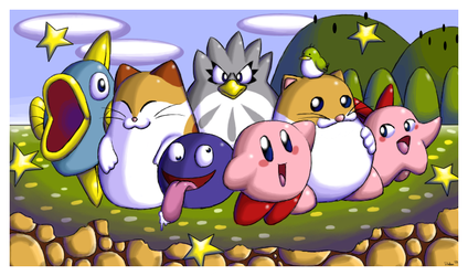 Kirby of the Stars by ShenTsumi