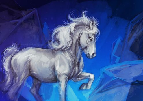 Icehorse by Lambidy