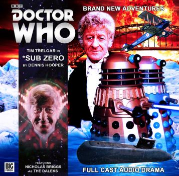 *Sub Zero | Big Finish Cover by Cotterill23