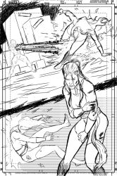 Ms. Amazing Ashcan Page 2 Rough Layout by ErickCruz